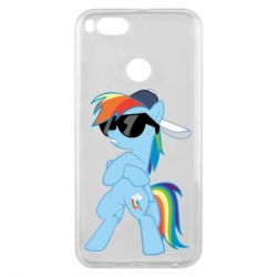 Чохол для Xiaomi Mi A1 Rainbow Dash Cool - FatLine