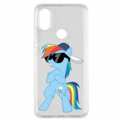 Чохол для Xiaomi Mi A2 Rainbow Dash Cool - FatLine