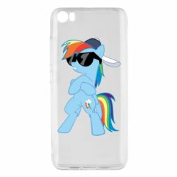 Чохол для Xiaomi Mi5/Mi5 Pro Rainbow Dash Cool - FatLine