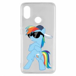 Чохол для Xiaomi Mi8 Rainbow Dash Cool - FatLine