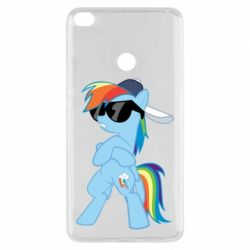Чохол для Xiaomi Mi Max 2 Rainbow Dash Cool - FatLine