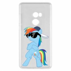 Чохол для Xiaomi Mi Mix 2 Rainbow Dash Cool - FatLine