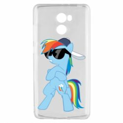 Чохол для Xiaomi Redmi 4 Rainbow Dash Cool - FatLine