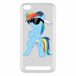 Чохол для Xiaomi Redmi 5a Rainbow Dash Cool - FatLine
