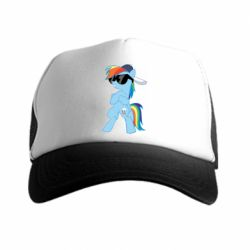 Кепка-тракер Rainbow Dash Cool - FatLine