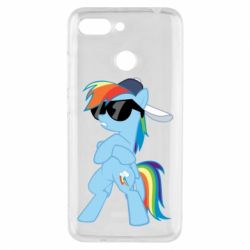 Чохол для Xiaomi Redmi 6 Rainbow Dash Cool - FatLine