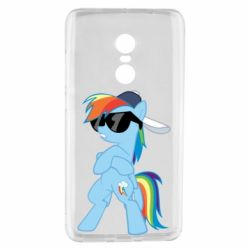 Чохол для Xiaomi Redmi Note 4 Rainbow Dash Cool - FatLine