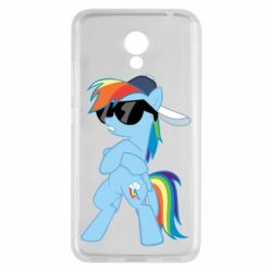 Чохол для Meizu M5c Rainbow Dash Cool - FatLine