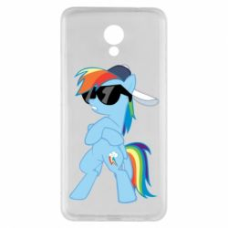 Чохол для Meizu M5 Note Rainbow Dash Cool - FatLine