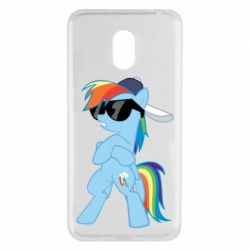 Чохол для Meizu M6 Rainbow Dash Cool - FatLine