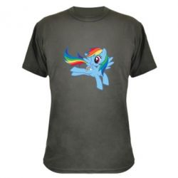 Камуфляжна футболка Rainbow Dash run