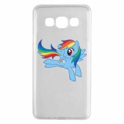 Чохол для Samsung A3 2015 Rainbow Dash run - FatLine