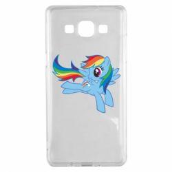 Чохол для Samsung A5 2015 Rainbow Dash run - FatLine
