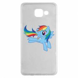 Чохол для Samsung A5 2016 Rainbow Dash run - FatLine