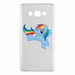 Чохол для Samsung A7 2015 Rainbow Dash run - FatLine