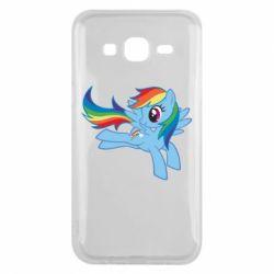 Чохол для Samsung J5 2015 Rainbow Dash run - FatLine