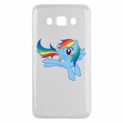 Чохол для Samsung J5 2016 Rainbow Dash run - FatLine