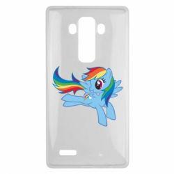 Чохол для LG G4 Rainbow Dash run - FatLine