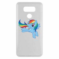 Чохол для LG G6 Rainbow Dash run - FatLine
