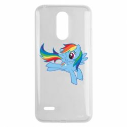 Чохол для LG K8 2017 Rainbow Dash run - FatLine