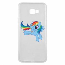 Чохол для Samsung J4 Plus 2018 Rainbow Dash run - FatLine