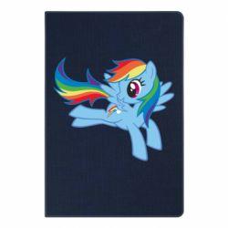Блокнот А5 Rainbow Dash run - FatLine