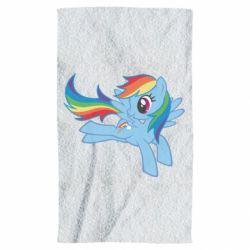 Рушник Rainbow Dash run - FatLine