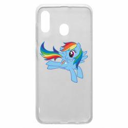 Чохол для Samsung A20 Rainbow Dash run