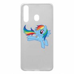 Чохол для Samsung A60 Rainbow Dash run