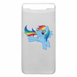 Чохол для Samsung A80 Rainbow Dash run