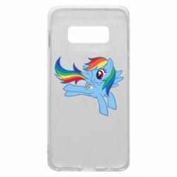 Чохол для Samsung S10e Rainbow Dash run