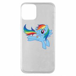 Чохол для iPhone 11 Rainbow Dash run