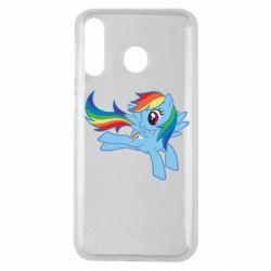 Чохол для Samsung M30 Rainbow Dash run
