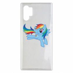 Чохол для Samsung Note 10 Plus Rainbow Dash run