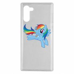 Чохол для Samsung Note 10 Rainbow Dash run