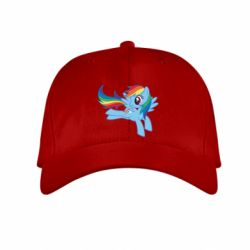 Дитяча кепка Rainbow Dash run - FatLine