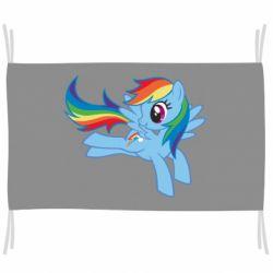 Прапор Rainbow Dash run