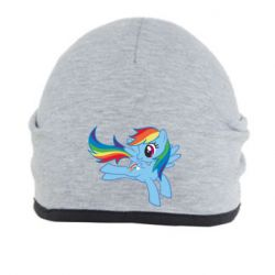 Шапка Rainbow Dash run