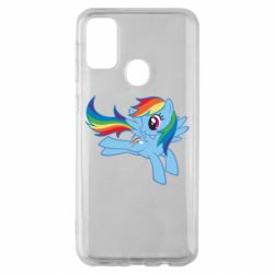 Чохол для Samsung M30s Rainbow Dash run