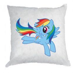 Подушка Rainbow Dash run - FatLine