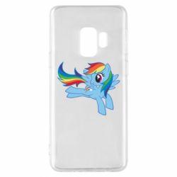 Чохол для Samsung S9 Rainbow Dash run - FatLine