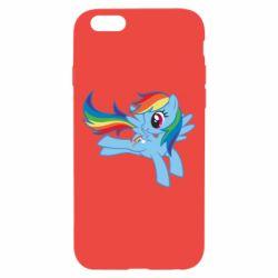 Чохол для iPhone 6/6S Rainbow Dash run - FatLine