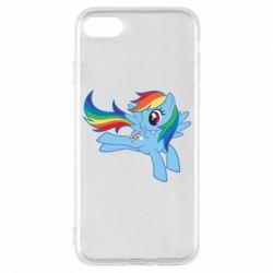 Чохол для iPhone 7 Rainbow Dash run - FatLine