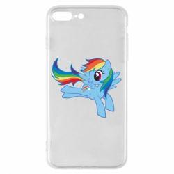 Чохол для iPhone 7 Plus Rainbow Dash run - FatLine