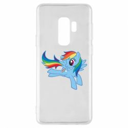 Чохол для Samsung S9+ Rainbow Dash run - FatLine