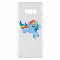 Чохол для Samsung S8 Rainbow Dash run - FatLine