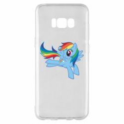 Чохол для Samsung S8+ Rainbow Dash run - FatLine