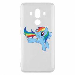 Чохол для Huawei Mate 10 Pro Rainbow Dash run - FatLine