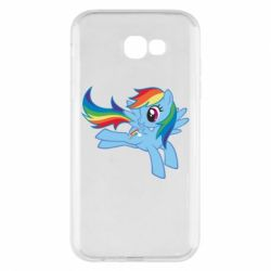 Чохол для Samsung A7 2017 Rainbow Dash run - FatLine