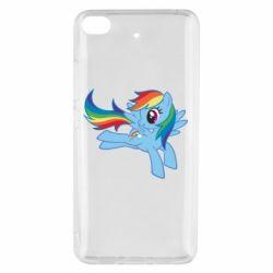 Чохол для Xiaomi Mi 5s Rainbow Dash run - FatLine